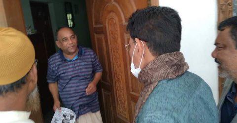 ভোলা পৌরসভা নির্বাচন: গনসংযোগে ব্যস্ত ধানের শীষের প্রার্থী ট্রুম্যান